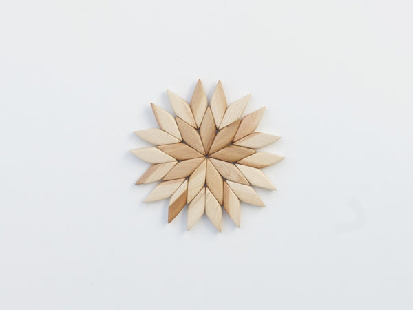 Juniper Wood Trivet Star (small)