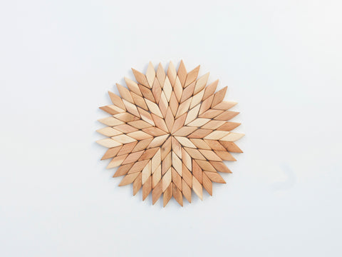 Juniper Wood Trivet Star (large)