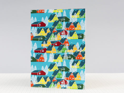 Greenland Multicolour Notebook