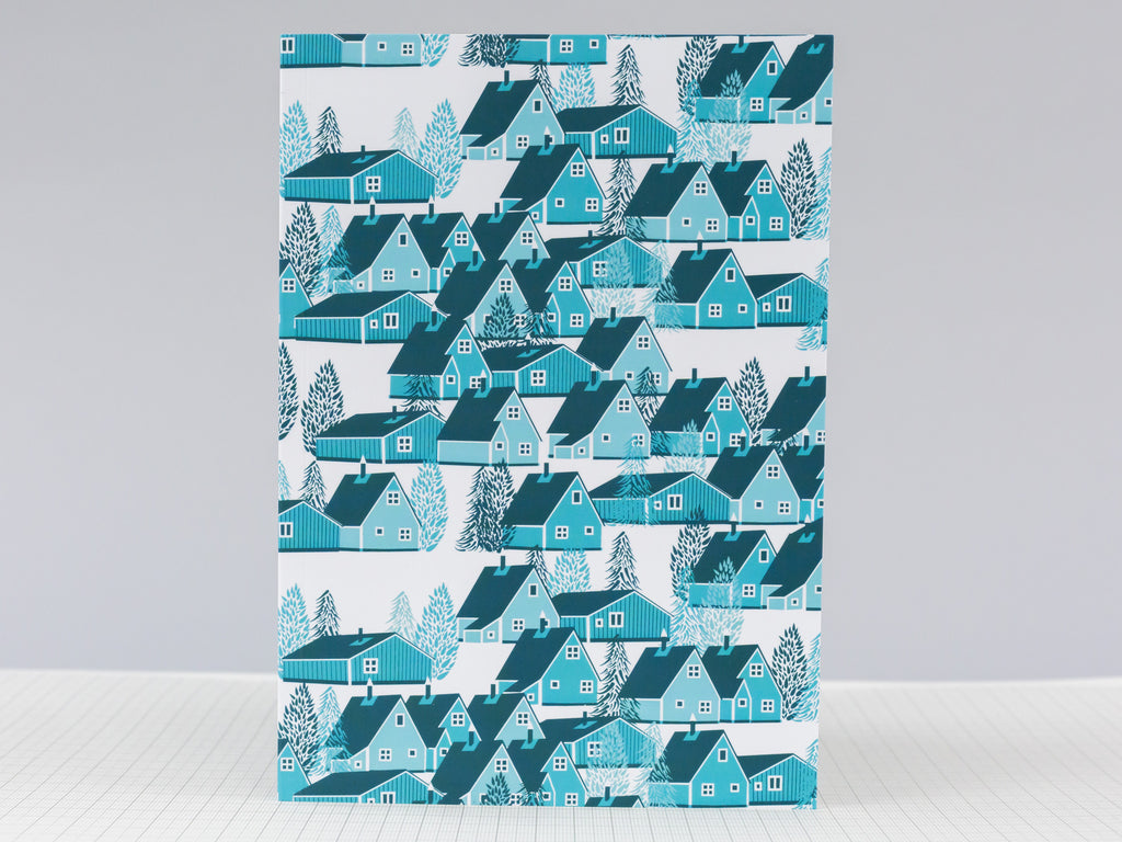 Greenland Blue Notebook