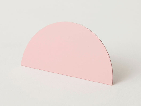 Geometric photo clip - pink