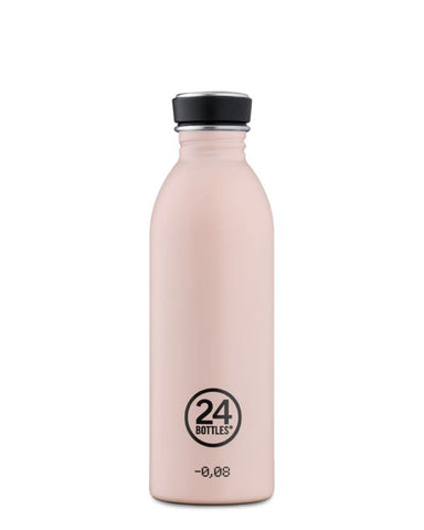 Urban Bottle - 0.5L - Stone finish Dusty Pink Urban