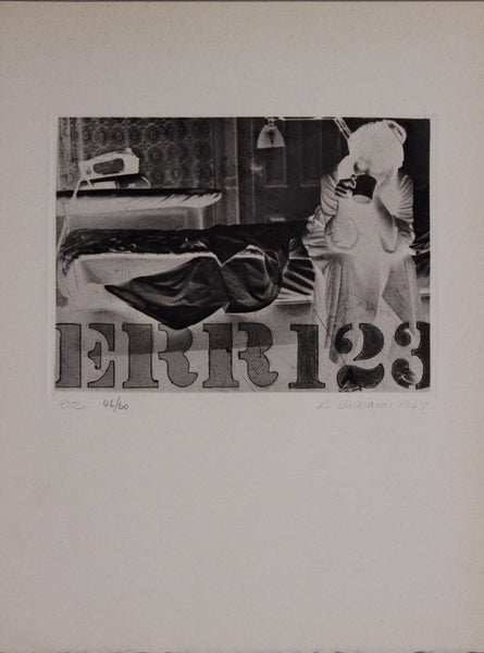 Robert Indiana, Err123, 1963