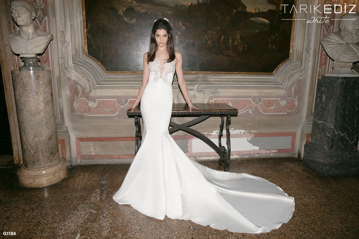 tarik ediz wedding dress flores g tarik ediz wedding dresses Tarik Ediz Wedding Dress FLORES G