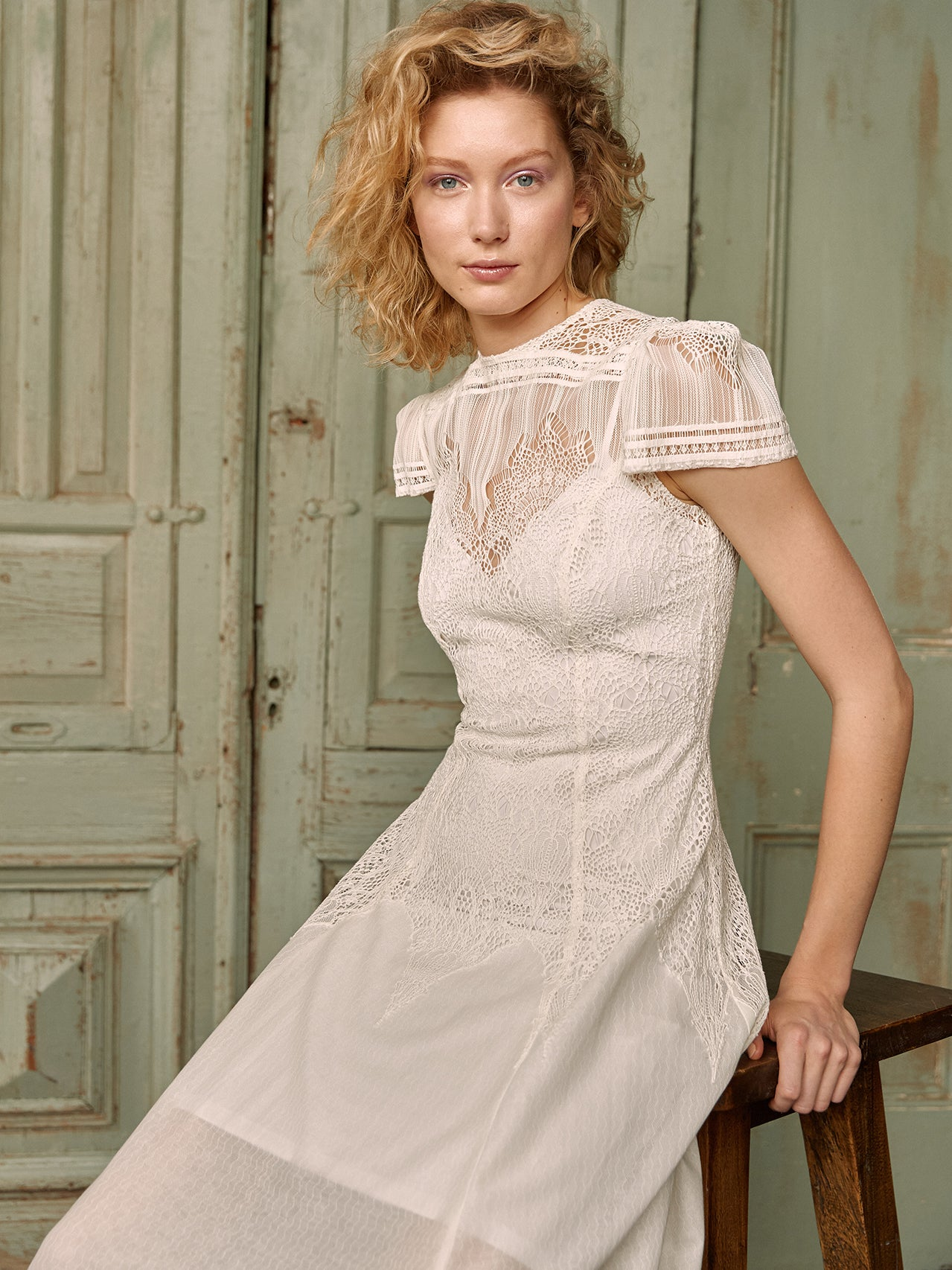 Mademoiselle A-Line ( size 14 white only)