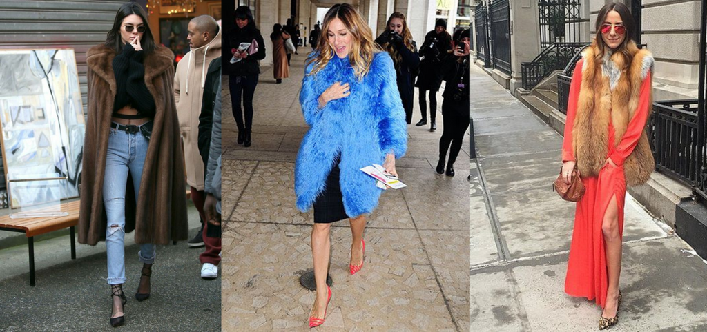 Influencers and celebrities we love, who wear furs!