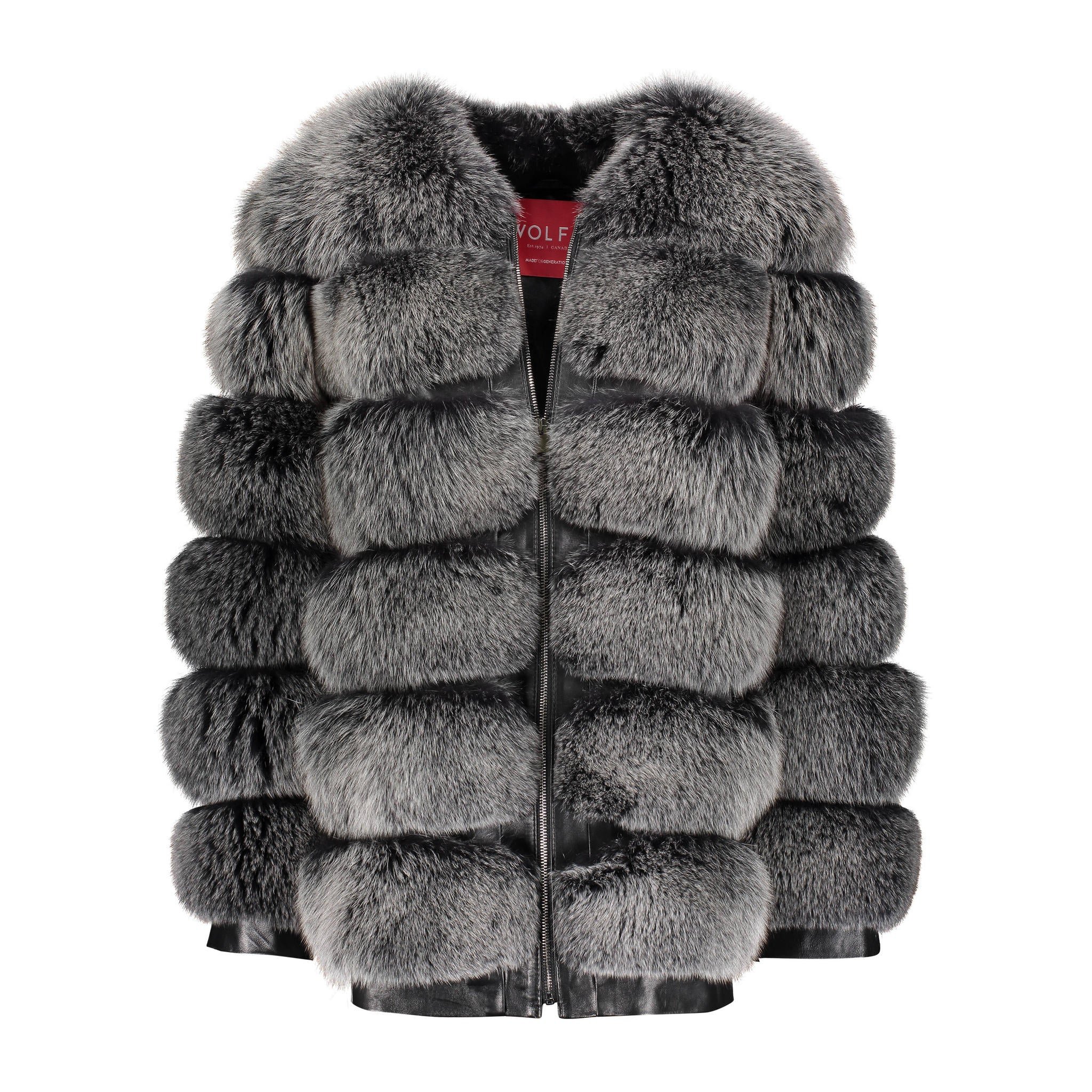 Myrla fox Fur Jacket