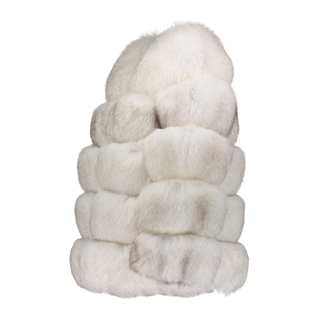 KIZZA Fox bubble fur jacket