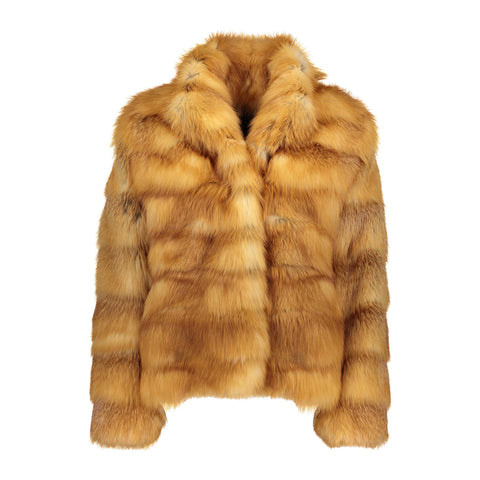 Daniella Calf Leather and Mink Vest