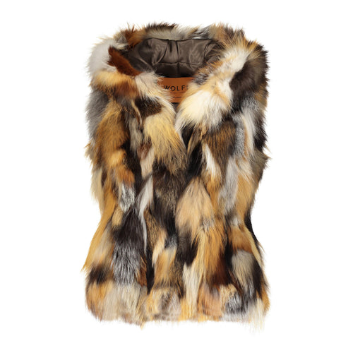 Francesca Fox Hooded Vest