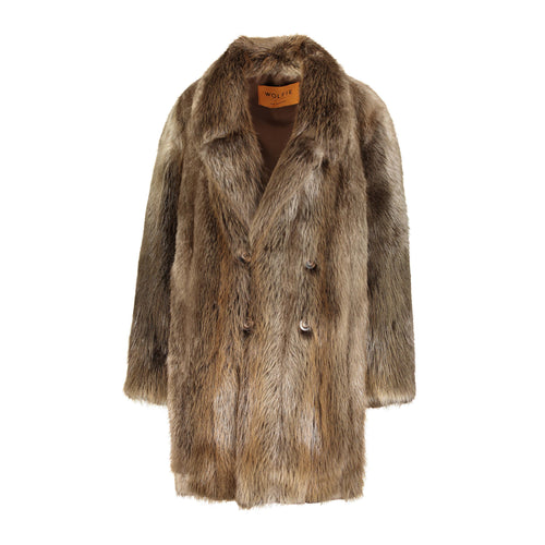 Carl Long Hair Beaver Trench Coat