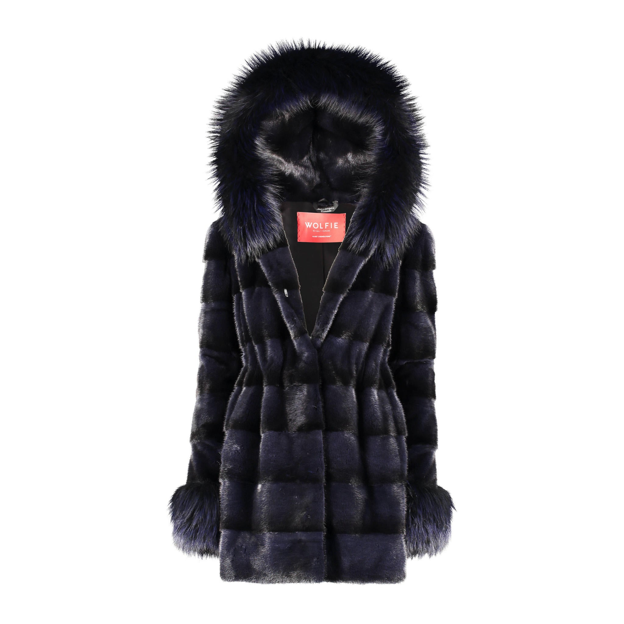 Neva Mink Hooded Jacket