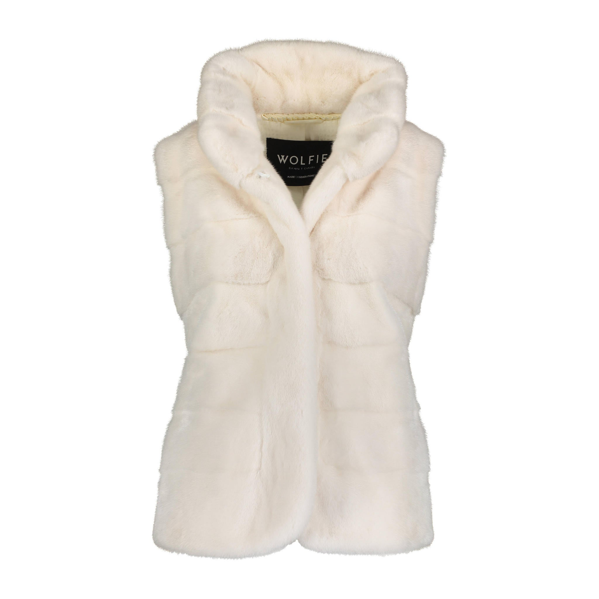 Karina rex rabbit Fur Vest
