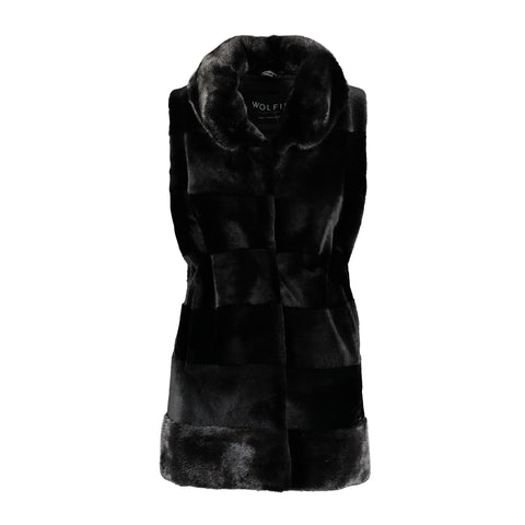 Rayal Calf and Rex ruffle Jacket