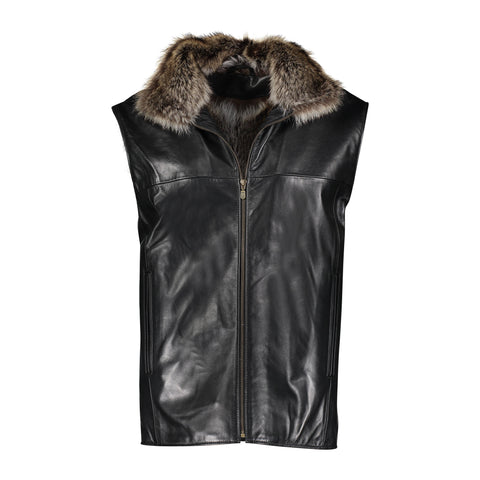 Alisson Calf Leather Vest