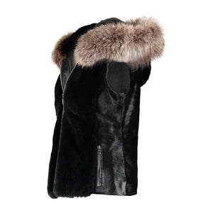 AMANDA Calf Leather Vest