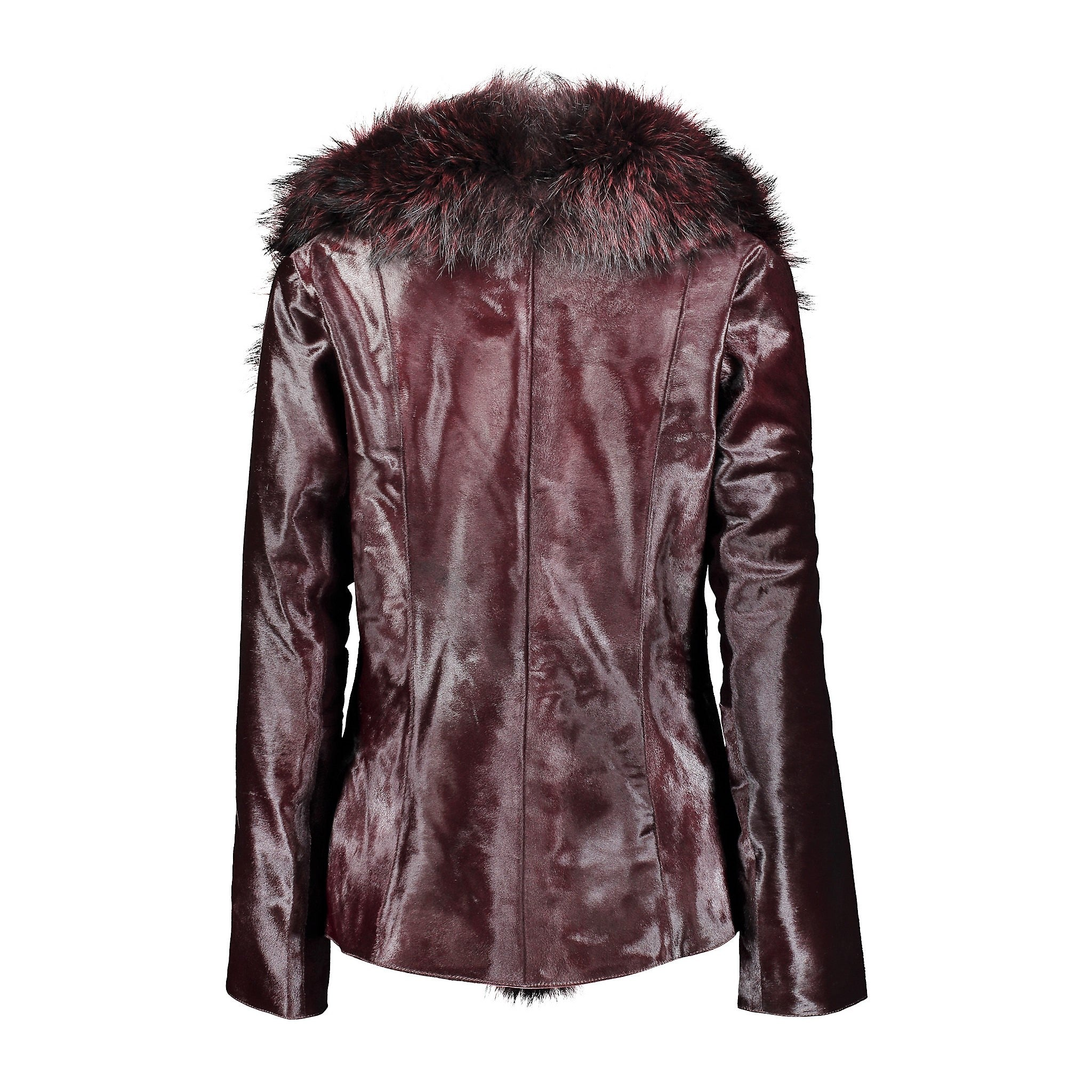 Teri Calf Leather Jacket