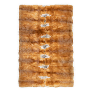 QUEBEC fur blanket