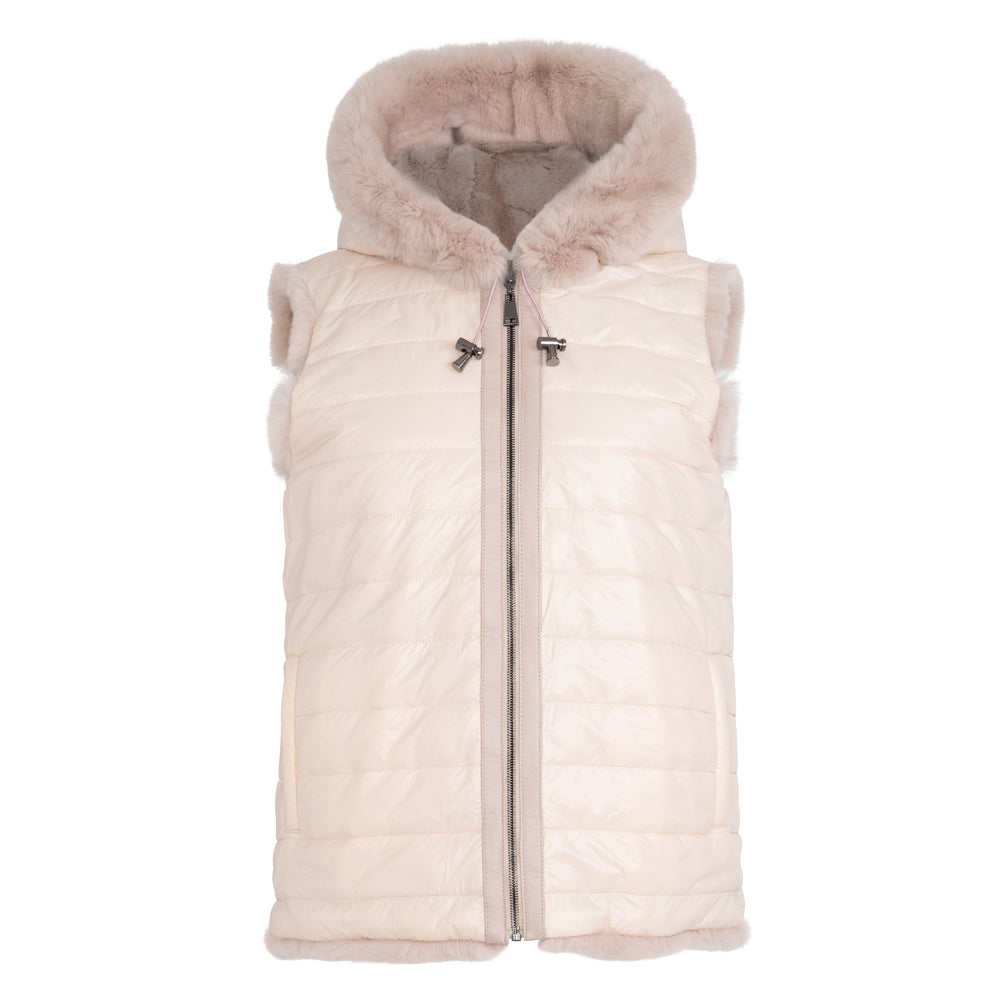 MIAR Kids reversible rex hooded vest