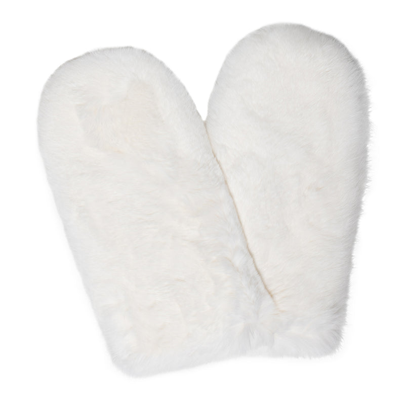 Gloria Rex rabbit fur gloves