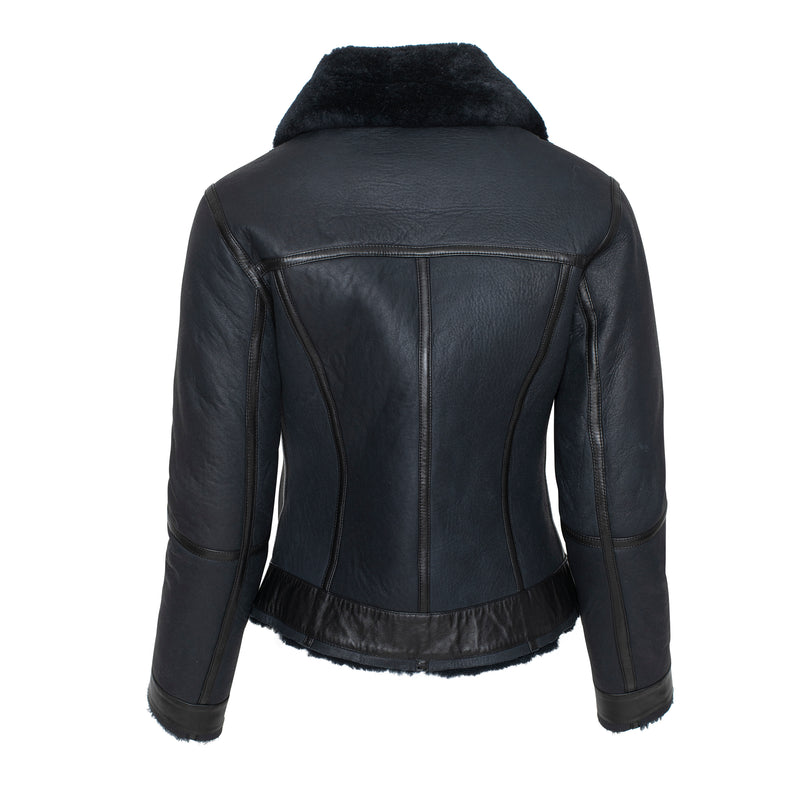 JOELLE Short shearling jacket