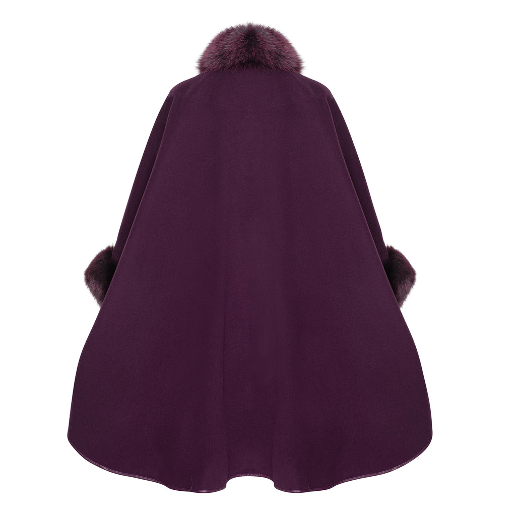DESTINY Cashmere cape Plus Fit