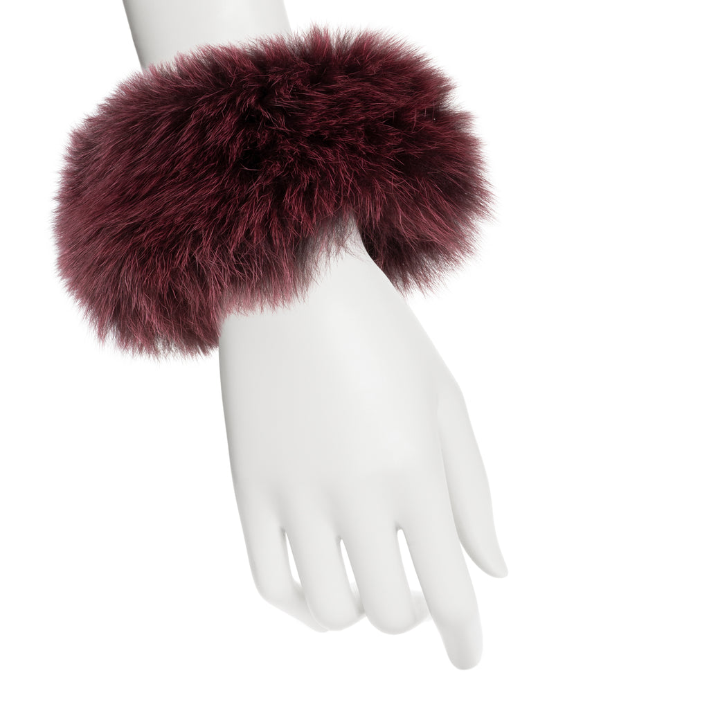 CLEO Fox fur cuffs