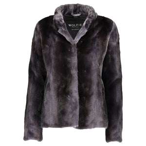 BARBRA Mink short jacket
