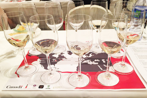 Canadian wine master class