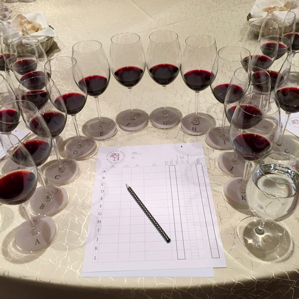 Braida blind tasting with Hong Kong Wine Society