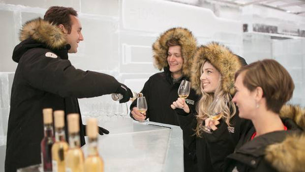 Sipping Peller Estate in 10Below Icewine Lounge