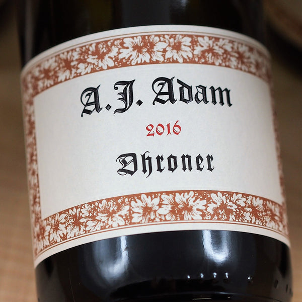 Weingut A. J. Adam Dhroner Riesling Trocken 2016, Mosel, Germany (750ml)