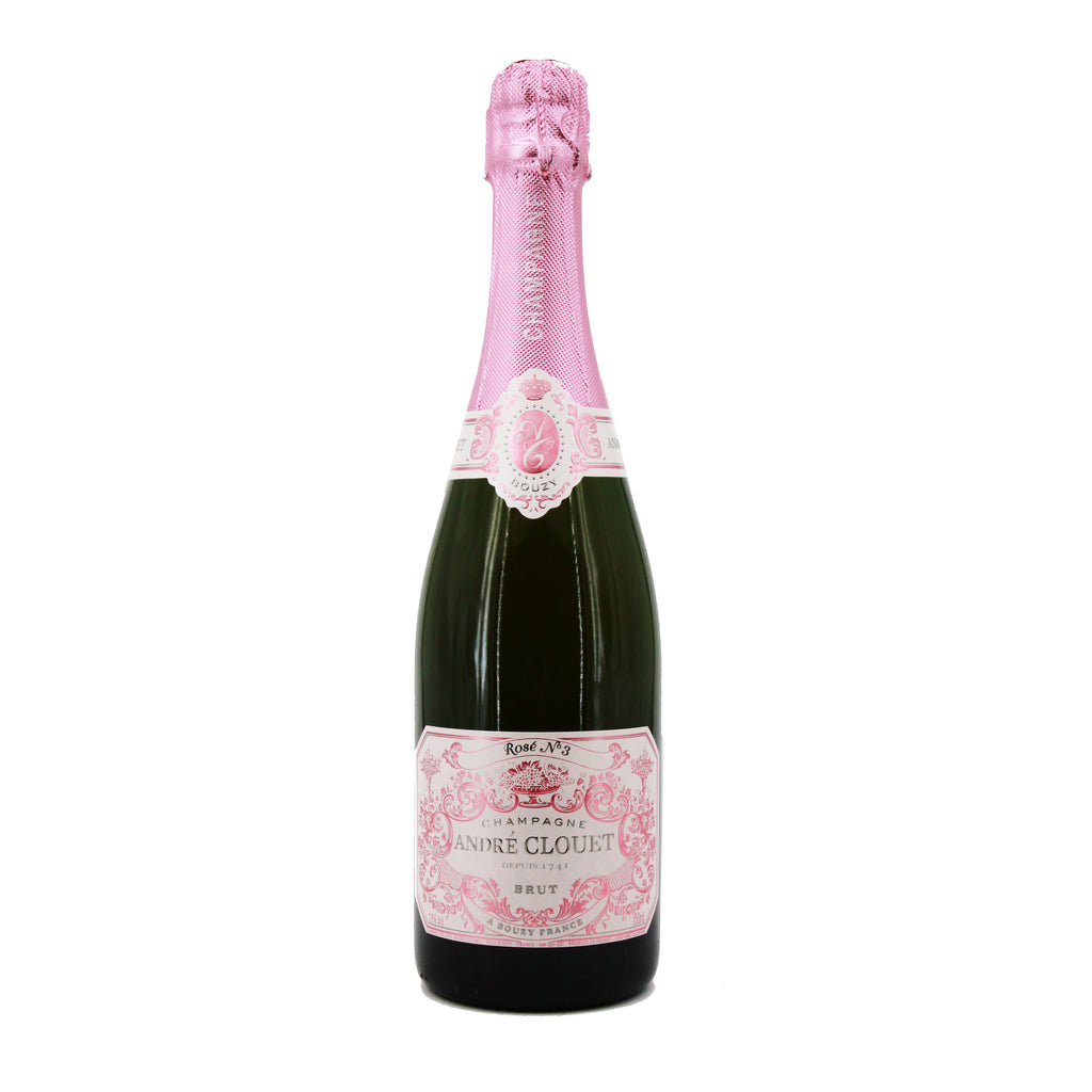 Andre Clouet Rose No. 3 NV, Champagne, France (750ml)