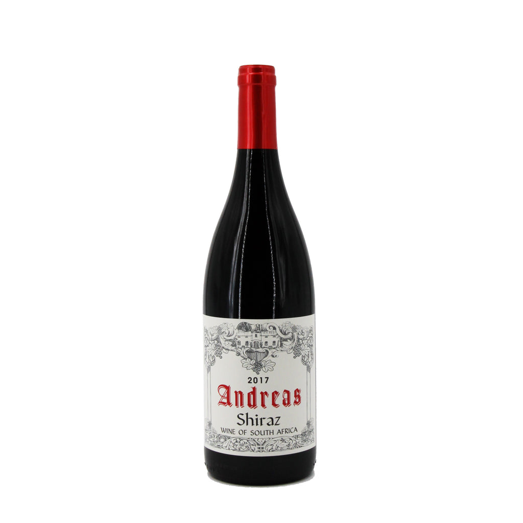 Andreas Shiraz 2017, Wellington, South Africa (750ml)
