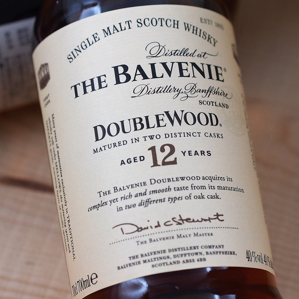 Balvenie DoubleWood 12 Year Old Single Malt Scotch Whisky, Speyside, Scotland (700ml)