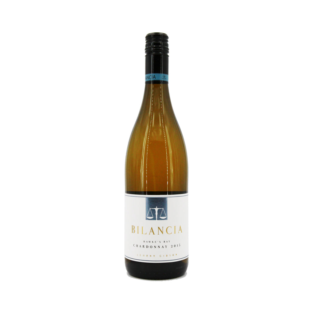 Bilancia Chardonnay 2015, Hawke's Bay, New Zealand (750ml)