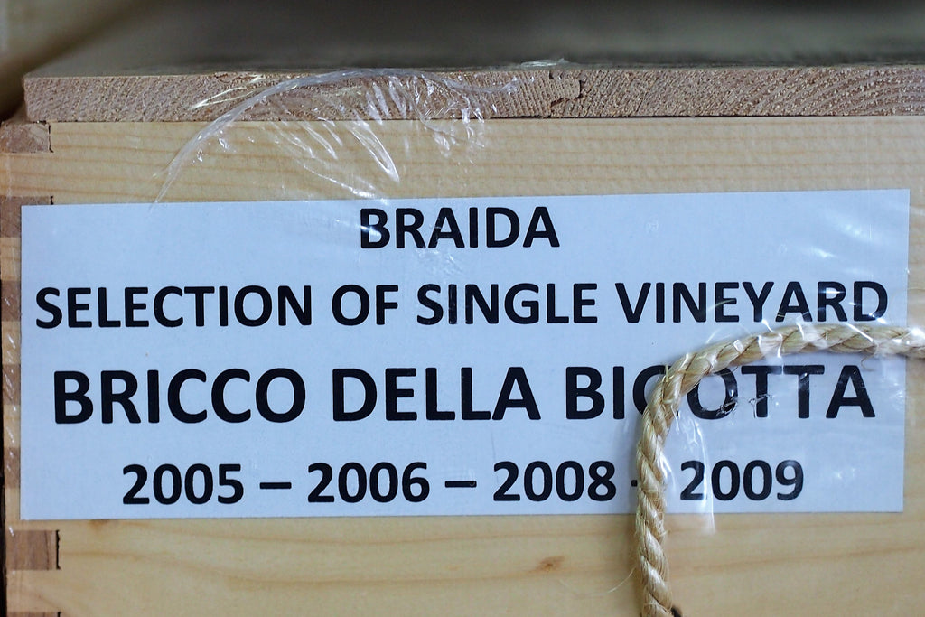 Braida Bricco Bigotta Gift Set (2005, 2006, 2008 & 2009) (12 bottles)