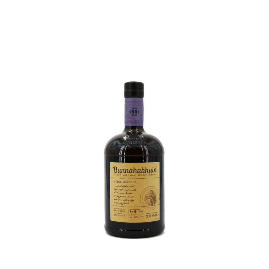 Bunnahabhain Mòine Marsala Single Malt Whisky, Scotland (700ml)