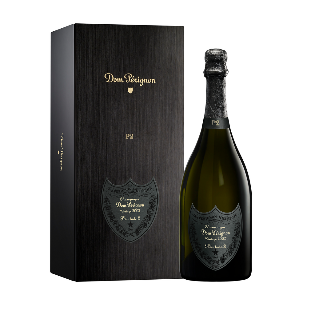 Dom Perignon P2 Plenitude Brut 2002, Champagne, France (750ml) with Gift Box