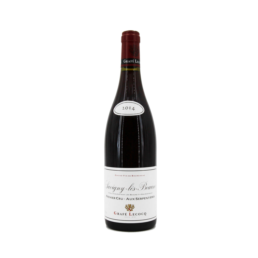 Grafe Lecocq Savigny-les-Beaune 1er Cru (Aux Serpentieres) 2014, Burgundy, France (750ml)