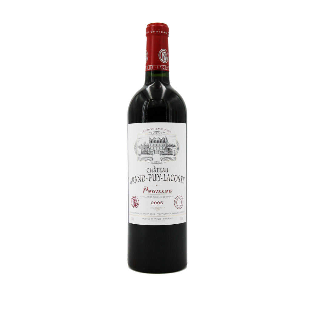 Chateau Grand Puy Lacoste 2006, Bordeaux, France (750ml)