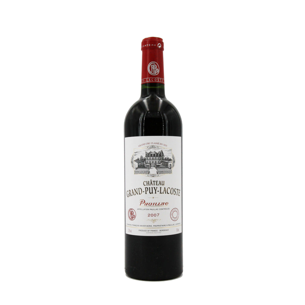 Chateau Grand Puy Lacoste 2007, Bordeaux, France (750ml)