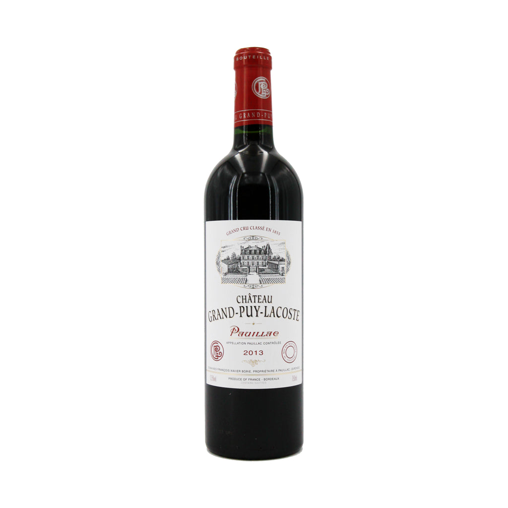 Chateau Grand Puy Lacoste 2013, Bordeaux, France (750ml)