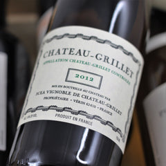Chateau Grillet 2012, Rhone, France (750ml)