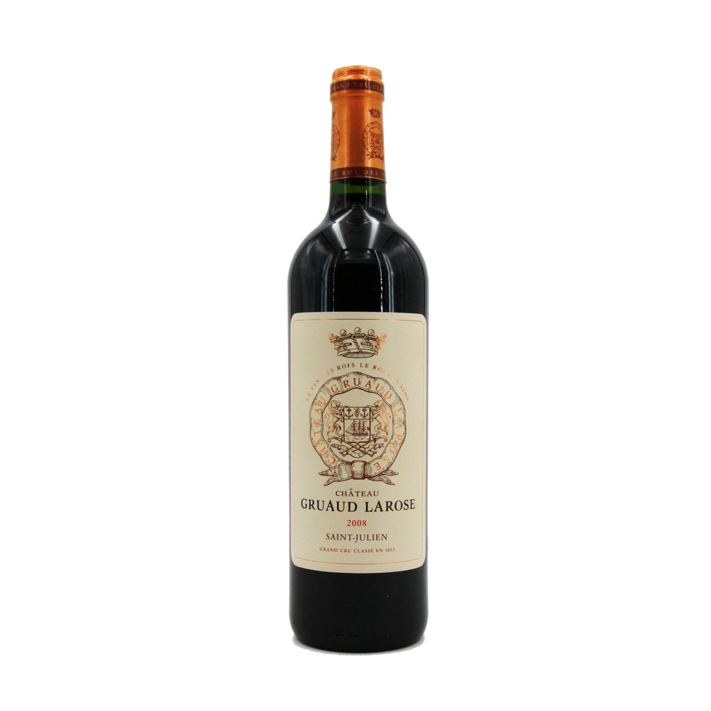 Chateau Gruaud Larose 2008, Bordeaux, France (750ml)