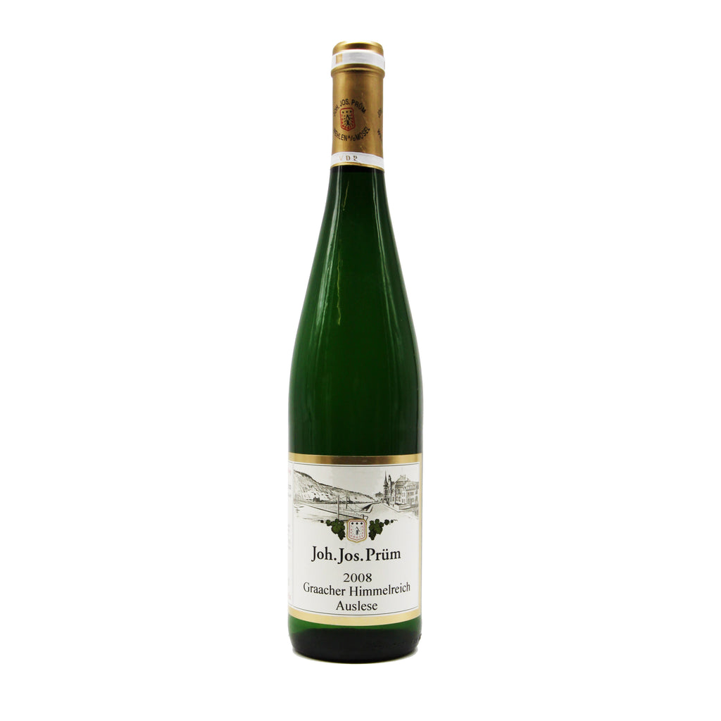 Weingut Joh. Jos. Prum Graacher Himmelreich Riesling Auslese Goldkapsul 2008, Mosel, Germany (750ml)