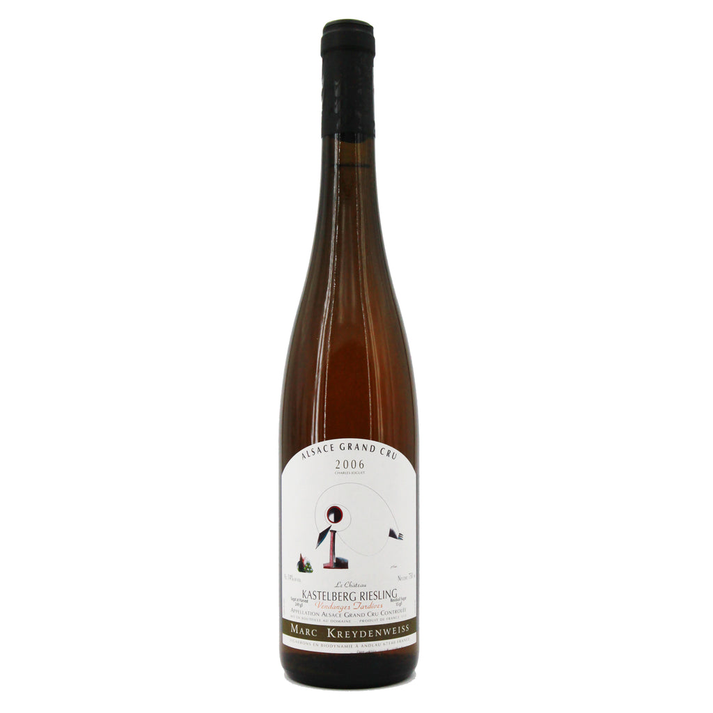 Famille Kreydenweiss Kastelberg Grand Cru Riesling 2006 Vendanges Tardives, Alsace, France (750ml)