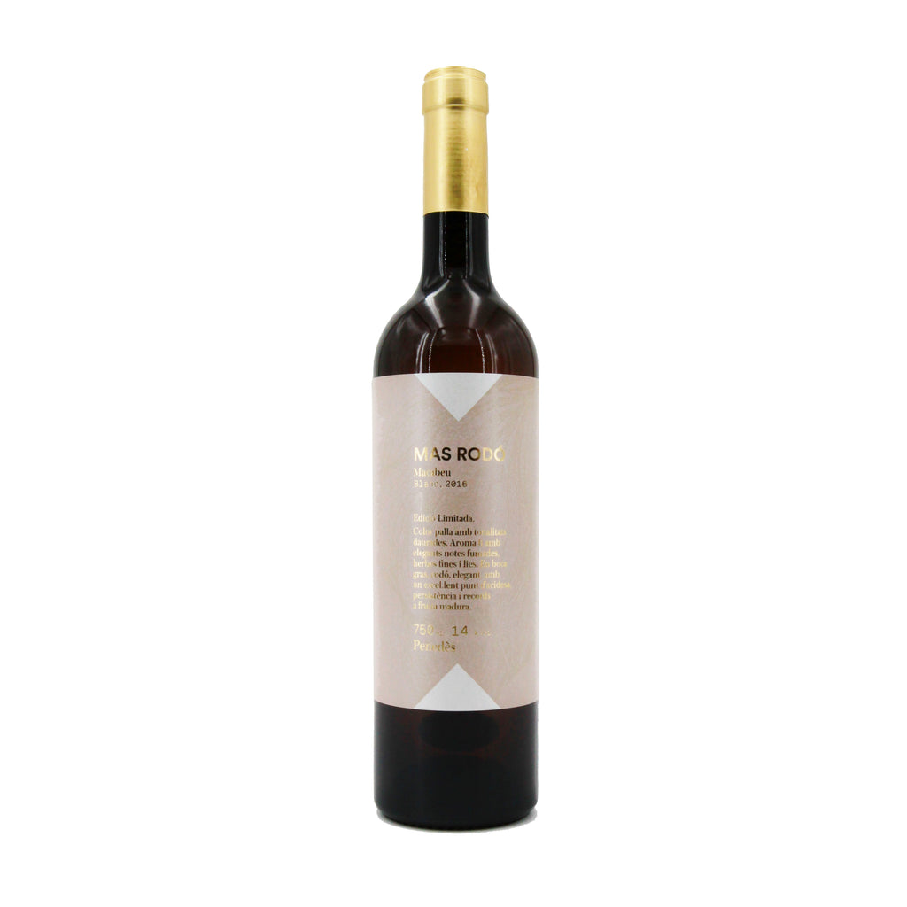 Mas Rodo Macabeo 2016, Penedes, Spain (750ml)