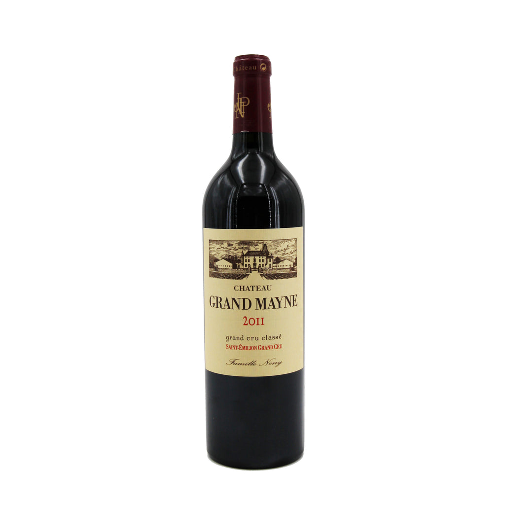 Chateau Grand Mayne 2011, Bordeaux, France (750ml)