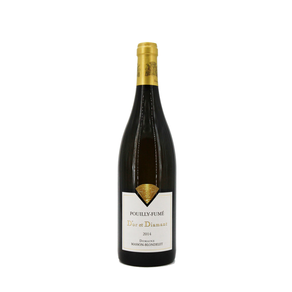 "Domaine Masson-Blondelet Pouilly Fume AOC ""D'Or et Diamant"" 2014, Loire, France (750ml)"